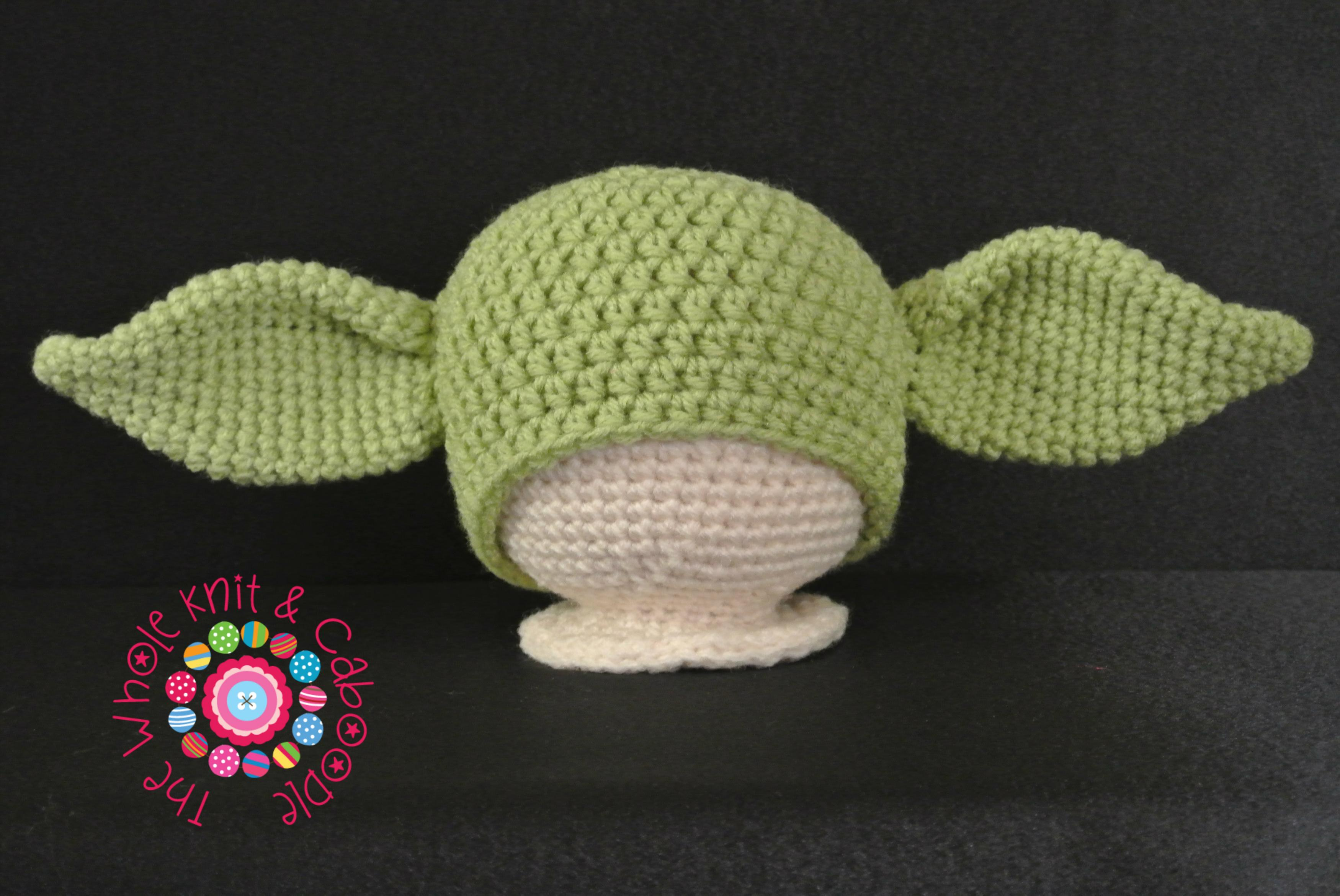 Yoda Hat (All Sizes) PDF Pattern on Luulla